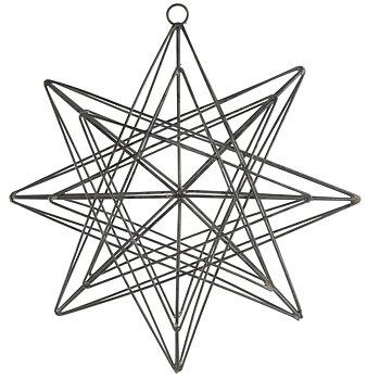 Stjärna i metall 21cm - Ib Laursen