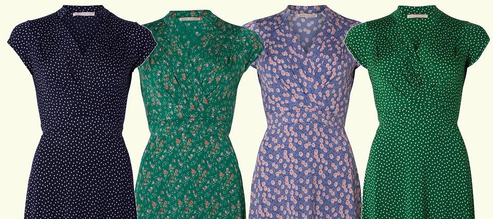 554fef69166d Mönster åter i lager De mönster från Stockholms Klänningsfabrik som sålde  slut i juni, finns