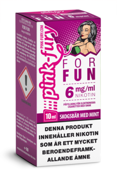 """FOR FUN"" Skogsbär / mint"