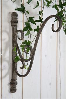 Vägghållare grå, från Silkflower