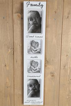 Tavelram med plats för 4 st kort, från Silkflower