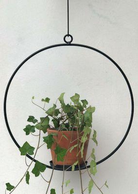 Blom eller Blockljusring, från Spegels
