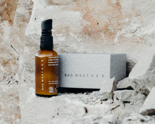 Organic skincare tailored for men