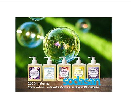100 % naturlig hygieniskt rent - men skonsam mot huden OCH planeten
