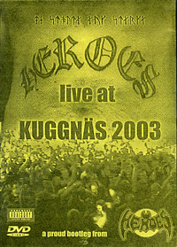 DVD Heroes live 2003