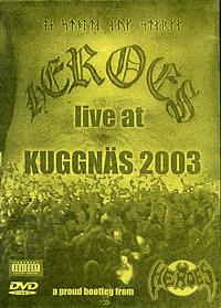 DVD Heroes live 2003