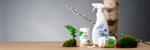 Det naturliga valet För rent vatten och hälsosam hud