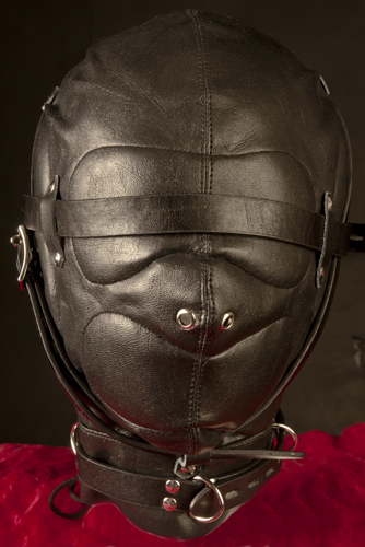 Lädermasker