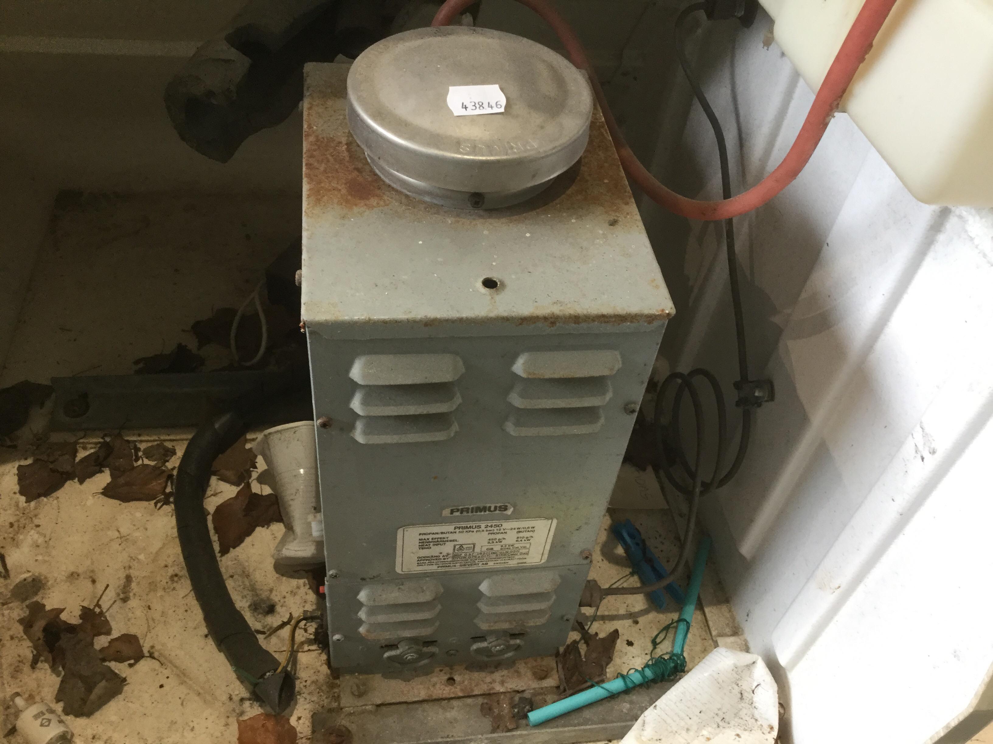 Primus 2450 Boiler