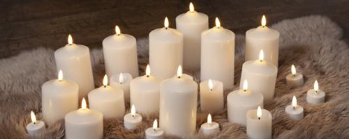 Hösten kommer krypande... Fixa myset med våra LED-ljus och dekorationer!