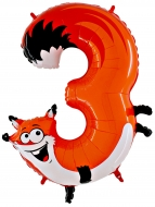 Folieballong Siffra - 3 - Animaloons