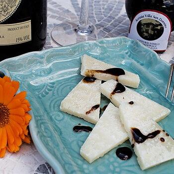 Balsamvinäger på parmesanost