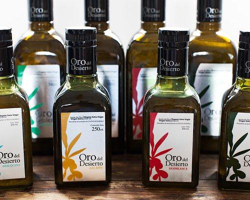 Ekologisk olivolja olika smaker