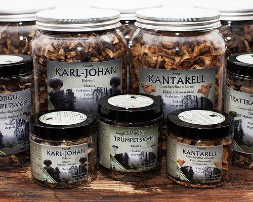 Torkad svamp från Värmland