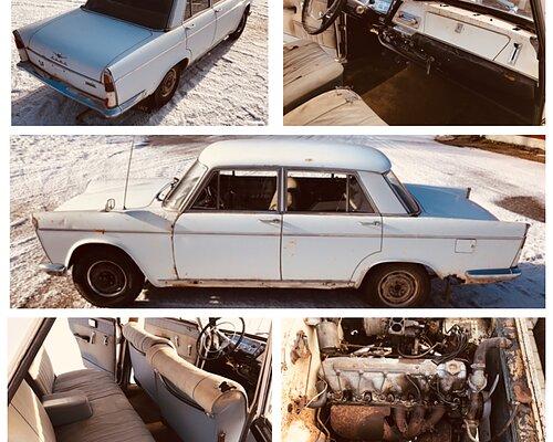 FIAT 1800B (1966) Pian myynnissä Ota yhteyttä jos kinnostaa!