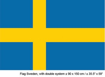 Sverigeflagga i Tyg (150 x 90 cm)