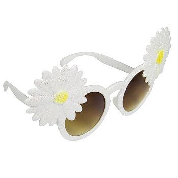 Solglasögon Glittriga Blommor
