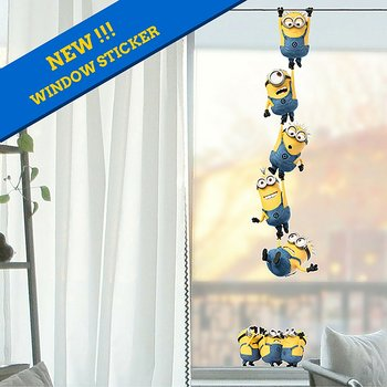 Minions Chain (fönster sticker)