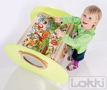 Play table Sensory Exclusive (5 didactic toys)