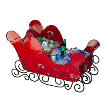 The Sled with Drinks Tub