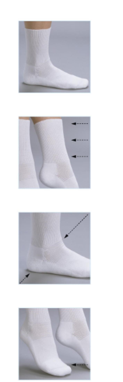 Diabetikersocka Prosox är speciellt utvecklade strumpor för diabetiker och känsliga fötter.