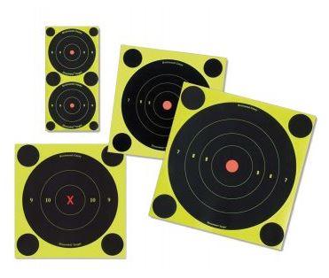 """Shoot-N-C 6"""" självmarkerande pricktavla (12-pack)"""
