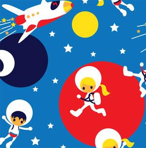 Astronaut röd