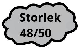 Storlek 48/50