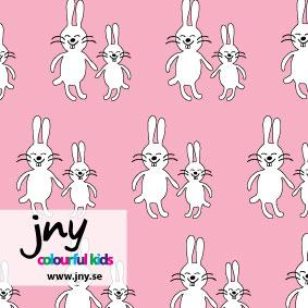 Funny Bunny, rosa - EKOLOGISKT