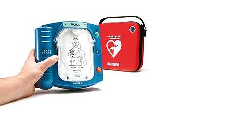 Hjärtstartare som är lätta att lära och använda