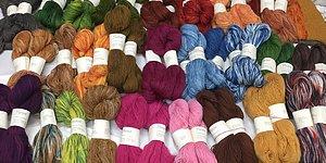 Utförsäljning  Växtfärgade islänska ullgarner