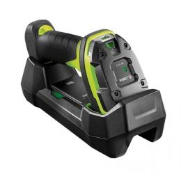 Zebra DS3678-SR, BT, 2D, SR, multi-IF, FIPS, kit (USB), black, green