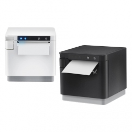 Star mC-Print3, USB, Ethernet, 8 dots/mm (203 dpi), cutter, white