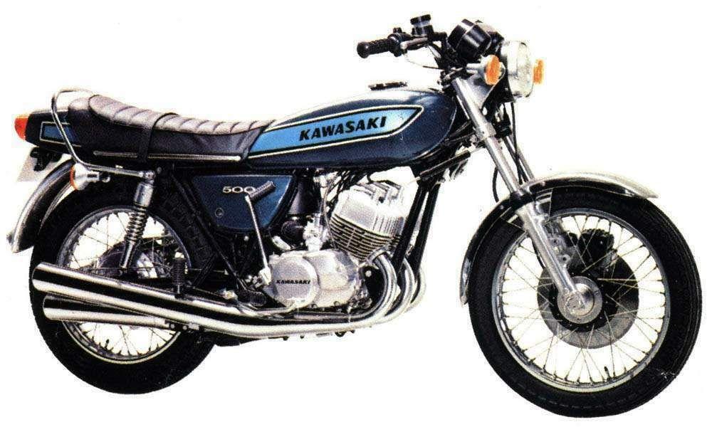 Classiska Kawasaki Mc