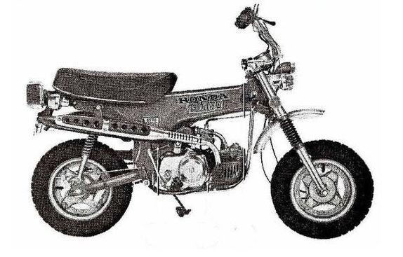 Monky bike Z50J
