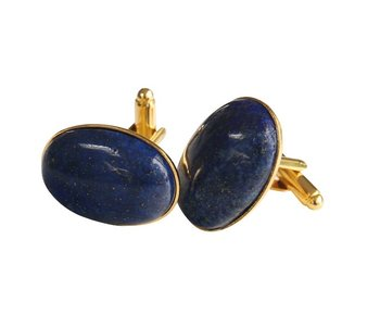 Manschettknappar med Lapis Lazuli sten