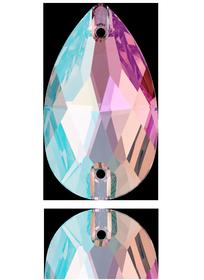 3230 DROPPE Light Amethyst Shimmer (212 SHIM) 18x10,5 mm