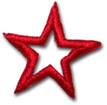 """Star """"open"""" - röd"""