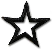"""Star """"open"""" - svart"""