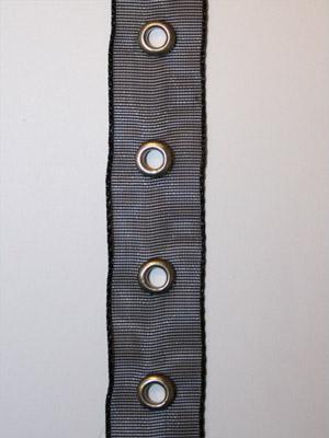ÖLJETTBAND - mesh, svart