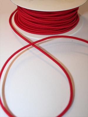 RESÅRSNODD - röd, 3 mm