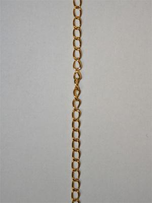 KEDJA - guld, 3x5 mm