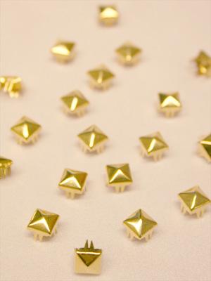 PUNKNITAR - guld 7 mm