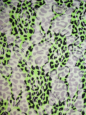 LEOPARDSPETS - grön
