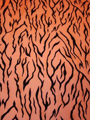 BLACKFLAMES - orange/svart