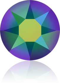Crystal Scarabaeus Green (001 SCGR)