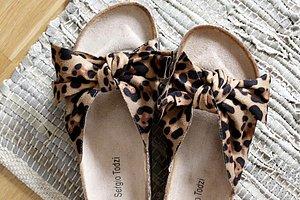 KUNDFAVORIT  Sandal Leopard
