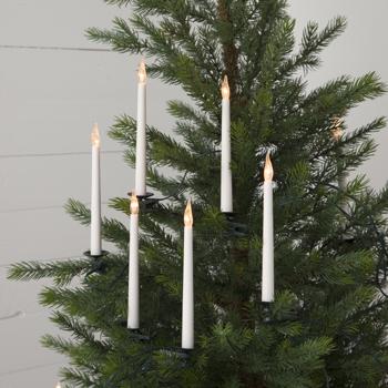 Julgransbelysning Slimline (med batteri & timer)
