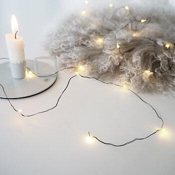 Ljusslinga Micro LED (två olika färger) - Majas Cottage