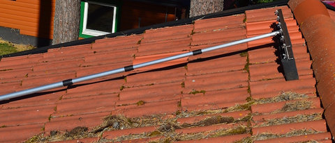Moss On Roof Roof Cleaning Roof Brush By Taksopen